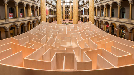 Awwchitecture: Couple Gets Engaged In Bjarke Ingels' Giant Maze | IComputation | Scoop.it