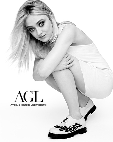 Dakota Fanning Poses (again) for Attilio Giusti Leombruni Fall/Winter 2015-16 Collection | Le Marche & Fashion | Scoop.it