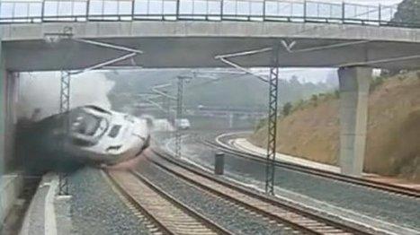 Vidéo : l'accident de train en Espagne filmé par une caméra de surveillance | Tout le web | Scoop.it