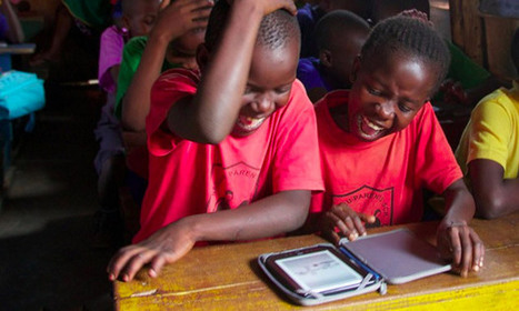 E-readers: the best way to get the world's children reading - The Guardian | iPad & Literacy | Scoop.it