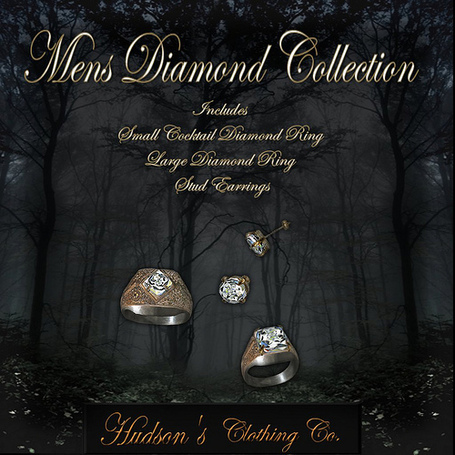 Men's Diamond Collection Group Gift by Hudson's Clothing Co | Teleport Hub | Second Life Freebies | Scoop.it