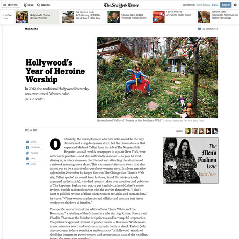 Introducing A New Article Design — NYTimes.com | Emi Journalisme | Scoop.it