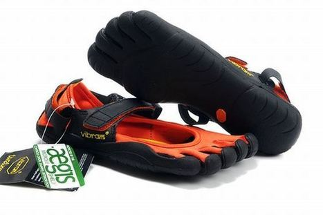 Vibram Five Fingers Sprint Orange/Black Women's | new and share style | Scoop.it