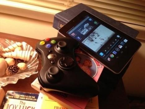 Une manette XBOX 360 sans fil sur la Google Nexus 7   Hack the World !   Scoop.it