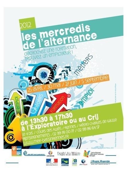 Les mercredis de l'alternance 2012 | Mission locale du bassin d'emploi de Rennes | Emploi et formation alternance Rennes | Scoop.it