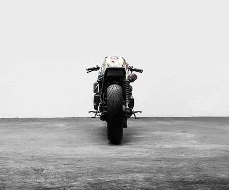 A Moto Guzzi inspired by Kill Bill ... complete with samurai sword? | M A G | Cafe racers | Scoop.it