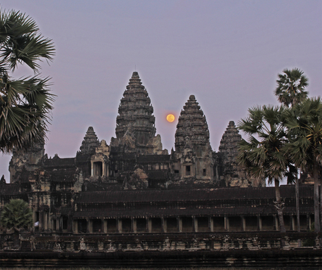 Cambodia 2014: Ancient Astronomy, Angkor Wat, City built with ...   What makes a city a city?   Scoop.it
