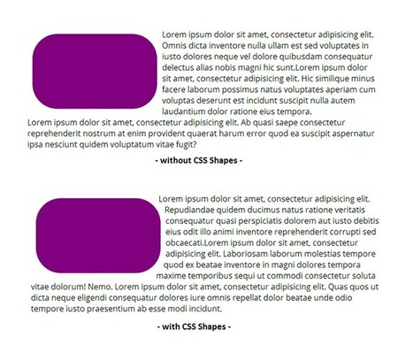 CSS Shapes 101 | All Things Web Design! | Scoop.it