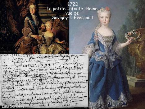 Lulu Sorcière Archive: 1722 - La petite Infante-Reine vue de Savigny-L'Evescault (86) - Archives Insolites de la Vienne. | GenealoNet | Scoop.it