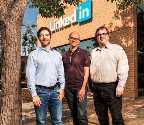 Microsoft s'empare de LinkedIn : une secousse dans le BtoB | Facebook, Twitter, LinkedIn et les autres ... | Scoop.it
