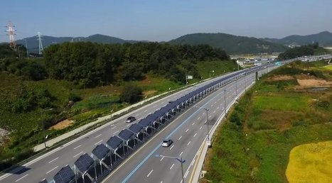 Eco-Minded Urban Planners Create a Bike Path Protected by Solar Panels in South Korea | Environment and Sustainability News | Scoop.it
