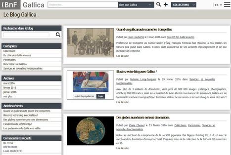 Gallica : un blog... sans fil RSS!   RSS Circus : veille stratégique, intelligence économique, curation, publication, Web 2.0   Scoop.it