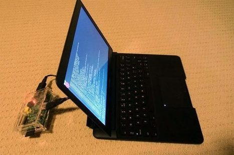 Raspberry Pi Laptop (Video) - Geeky gadgets | Raspberry Pi | Scoop.it