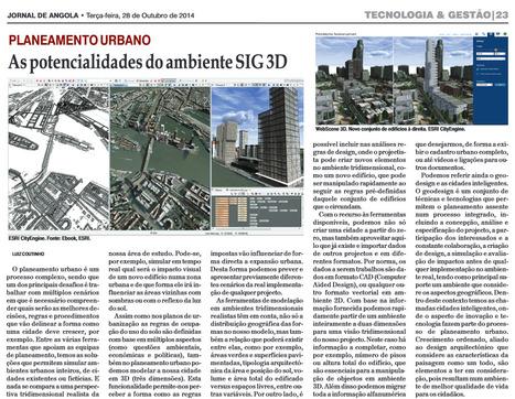 Planeamento Urbano : As potencialidades do SIG 3D #ESRI #CITYENGINE   geoinformação   Scoop.it