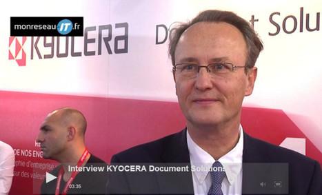 Interview vidéo KYOCERA - Gérard de Carville | IT Partners | Scoop.it