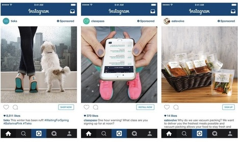 Instagram Adds Call-to-Action Buttons, More Relevant Ad Targeting | Stratégies Digitales, WebMarketing & SEO | Scoop.it