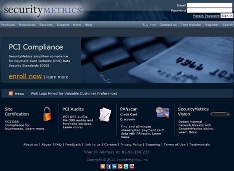 Security Tools - SecurityMetrics | ICT Security Tools | Scoop.it