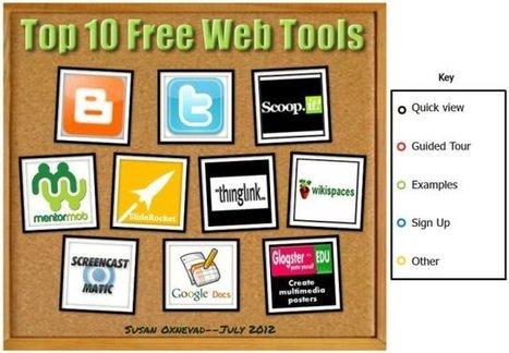EN: Top 10 Free and User Friendly Web Tools - 2012 | LMOOC | Scoop.it