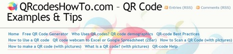 How to read QR codes with a Webcam « QRcodesHowTo.com – QR Code Examples & Tips | REALIDAD AUMENTADA Y ENSEÑANZA 3.0 - AUGMENTED REALITY AND TEACHING 3.0 | Scoop.it