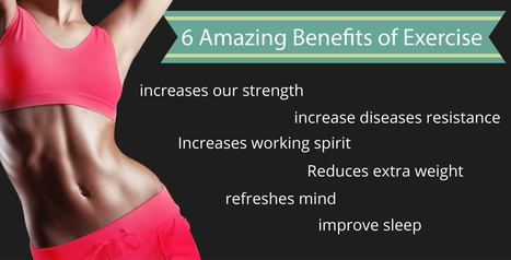Benefits of exercise | pharmahealth24 | Key factors of a healthy lifestyle: | Scoop.it