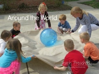 Around the world | an Earth day game | Teach Preschool | Scoop.it
