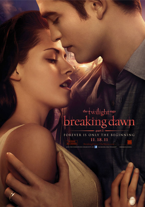 New Breaking Dawn Poster Revealed—Check Out That Bling! - E! Online   Vampires   Scoop.it