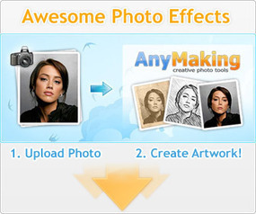 Modificare Foto Online e Applicare Effetti con AnyMaking | iulia | Scoop.it