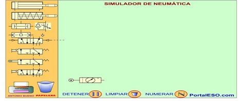 tic - Simulador Neumático online | tecnología industrial | Scoop.it