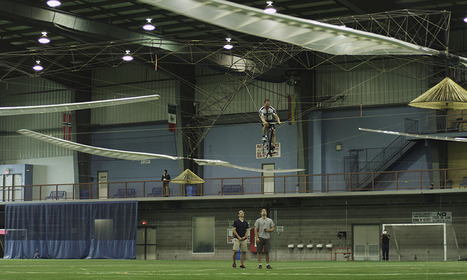 The Atlas Human-Powered Helicopter Wins the AHS Sikorsky Prize | Colossal | Scott's Linkorama | Scoop.it
