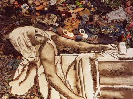 Pictures of Garbage | VikMuniz | RL | Scoop.it