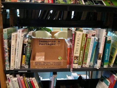 Des grainothèques : cultiver son jardin et l'esprit de partage | Insolite bibliothèque | Scoop.it