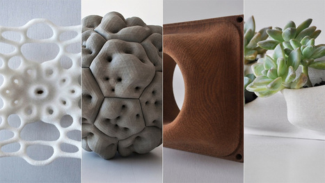 Wood, Salt, and Wonder: The Renewable Future of 3D Printing | Peer2Politics | Scoop.it