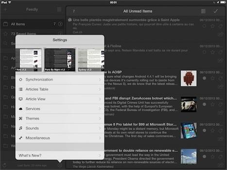 Le lecteur RSS Mr. Reader [iPad] se met complètement à iOS 7 | RSS Circus : veille stratégique, intelligence économique, curation, publication, Web 2.0 | Scoop.it