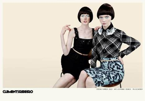 Clements Ribeiro Launches Spring 2013 Campaign by Uli Weber | TAFT: Trends And Fashion Timeline | Scoop.it
