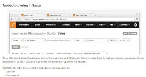 Saasu Expands File Storage, Adds Tabbed Browsing | IT and The Cloud for Accountants | Scoop.it