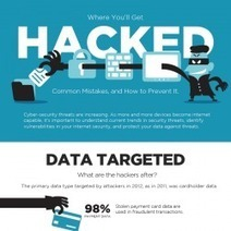 How To Protect Yourself From Hackers | Visual.ly | Cabinet de curiosités numériques | Scoop.it