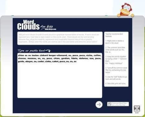Création de nuage de mots en ligne, Word Clouds   Les Infos de Ballajack   Boitiers de réponse   Scoop.it