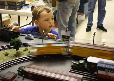 Indiana model train show attracts kids at heart - The Courier-Journal | Model railways | Scoop.it