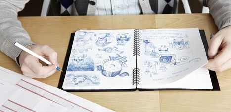 Studies Show That People Who Doodle Have an Advantage Over the Rest of Us | Visual Thinking | Scoop.it