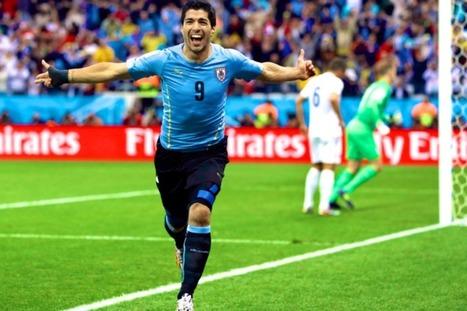 Uruguay Beats England, Italy To Face Costa Rica Today | bradkerkostka | Scoop.it