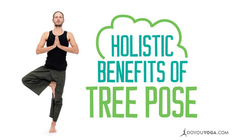 The Holistic Benefits Of Tree Pose | Yogic way of life | Scoop.it