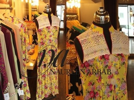 Naureen Arbab Formal Wear Collection 2013 | Latest Fashion News of Pakistan | Scoop.it