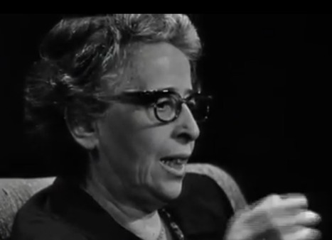 Hannah Arendt Discusses Philosophy, Politics & Eichmann in Rare 1964 TV Interview | Philosophy, Education and Politics | Scoop.it