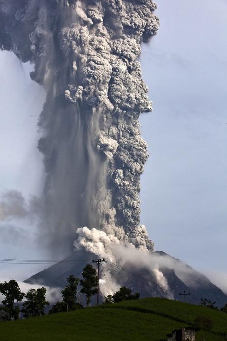 Uitbarsting Mount Sinabung » De Geobronnen | Aardrijkskunde 3BC | Scoop.it
