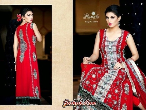 Formal Indian Embroidered Dresses Collection 2014 For Women   joshpk   Scoop.it