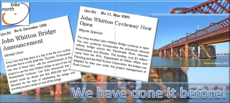 Bike North celebrates 12 years of cycling the John Whitton Bridge   Active Commuting   Scoop.it