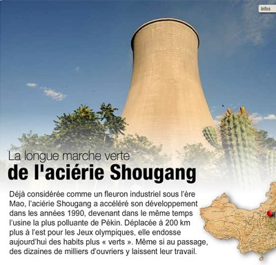 SHOUGANG, MUTATION D'UN COLOSSE | CHINAONTHEWEB | Scoop.it