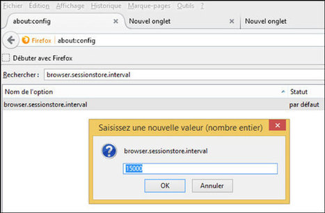 7 fonctions avancées pour Firefox (avec about:config) | Time to Learn | Scoop.it