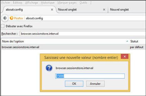 7 fonctions avancées pour Firefox (avec about:config) - MemoClic | netnavig | Scoop.it