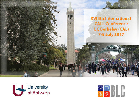 Call2017 Conference: Berkeley, July 2017 | TELT | Scoop.it